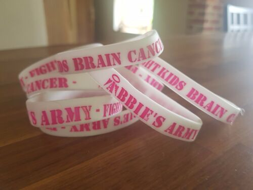 Charity Abbie's Army Wristband