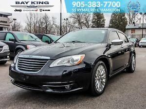 2013 Chrysler 200 REMOTE START, BLUETOOTH, HEATED SEATS, SUNROOF
