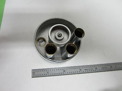 Microscope Part Zeiss Germany Epiplan Nosepiece As Is Binq6-19