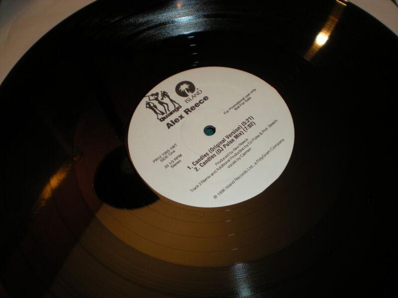 Alex Reece Candles VINYL DJ Pulse Blue Amazon - Jazz Master DJ Krust