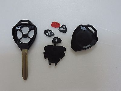 New Toyota 4 Button Remote Head Key Case Shell Entry Case Replacement T4C