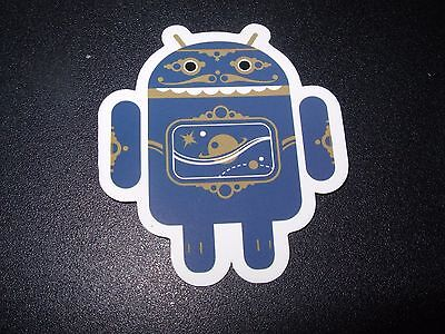 """ANDROID DROID Redbot robot logo Sticker 2.5/"""" Google andrew bell"""