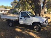 2003 Hilux 4x4 single cab V6 Two Rocks Wanneroo Area Preview