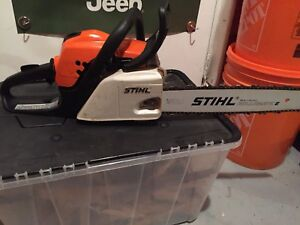 Stihl chainsaw/chain saw works great and save a ton over new