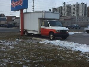 1998 Ford e350 17 foot cube van for sale