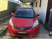 2012 honda jazz Gli 76500km one owner fully serviced Seven Hills Blacktown Area Preview