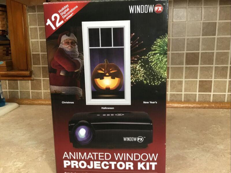 Window FX Animated Window Projector Kit Christmas 12 Seasonal Displays