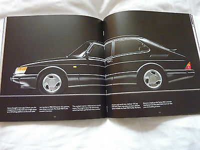 SAAB SOFT BACK BOOK SUPERB FOR FANS 9000 9-3 9-5 AERO NEW