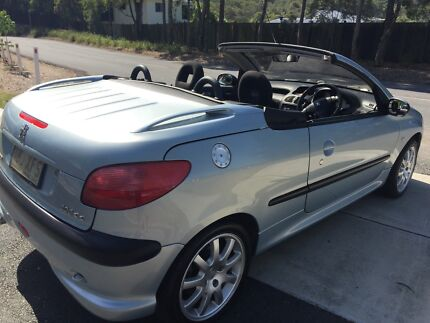 Convertible Peugeot 206cc Ferny Grove Brisbane North West Preview