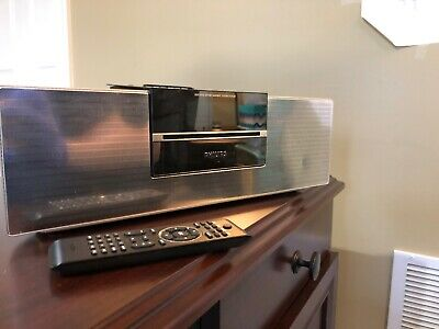 Philips Executive Bookshelf Stereo Docking System DCM230/37 iPod Dock WORKS  Ipod Stereo-docking