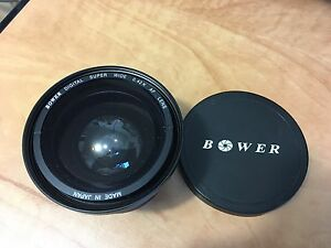 Bower Wide Angle Lens Fisheye 0.42X With Macro Attachement