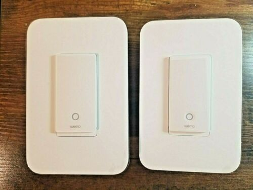 Brand New WEMO Wifi Smart Light Switch 2 Pieces Homekit Compatible