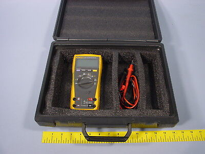 Multimeter Instrument Universal Hard Black Case Meter Not Included Fits Fluke