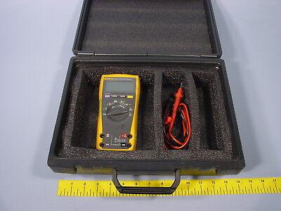 Multimeter Instrument Universal Hard Black Case Meter Not Included Fits Fluke