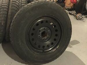 4 Winter Claw 245/70/17 Tires on Steel 6 Bolt Rims 17x7.5J