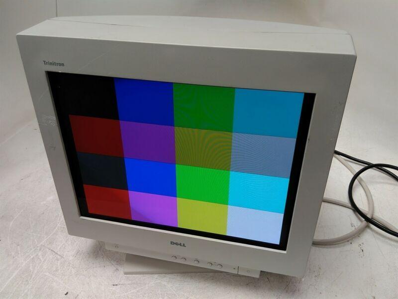 "Dell Sony Trinitron UltraScan P780 17"" Retro Gaming CRT Monitor"