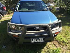 2006 Ford Territory SY (4x4) Blue Automatic 6sp A Wagon + Extra's Burwood Whitehorse Area Preview