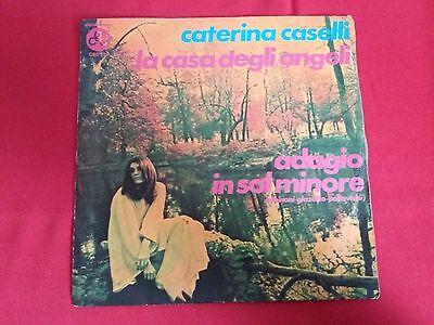 Disco 45 giri 1971 CATERINA CASELLI Casa degli Angeli Adagio Sol minore CGD 120 segunda mano  Embacar hacia Argentina
