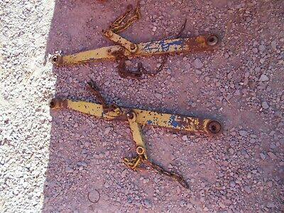 Ford 3000 Tractor 3pt Hitch Bottom Lift Arms Arm Chains