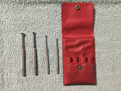 Mitutoyo 154-901 H 0.125 To 0.500 4pc Small Hole Gage Set Nos