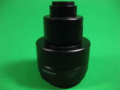 Olympus Original -- U-tv1x-2 And U-cmad3 -- Used