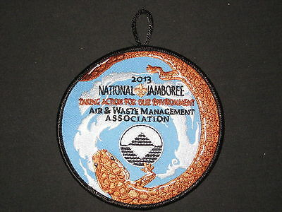 2013 National Jamboree Air   Waste Management Association Patch     Jf1