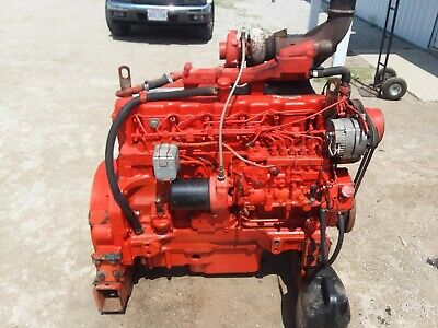John Deere 466 Engine Runs Excellent
