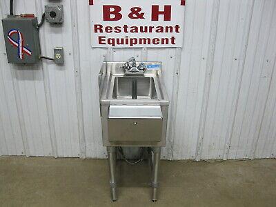 Bk Resources 14 X 18 Stainless Steel Underbar Dump Sink Bkubs-1014hs-18s