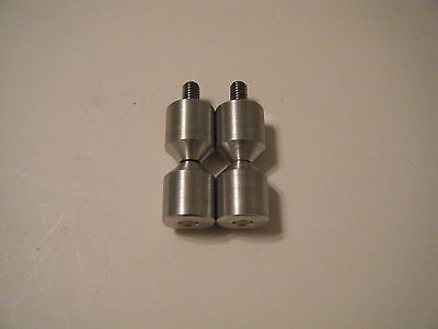 1-two Hole Pin-6061 Aluminium- 38-16 Stainless.steel Threaded Rod