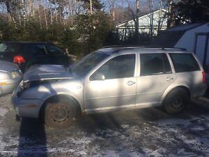 2005 Volkswagon Wagon TripTonic Part Out