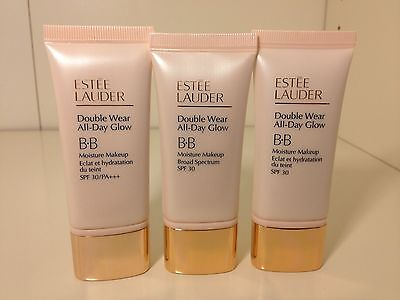 Estee Lauder Double Wear All Day Glow Bb Moisture Make Up Spf 30 1 0 2 0 3 0