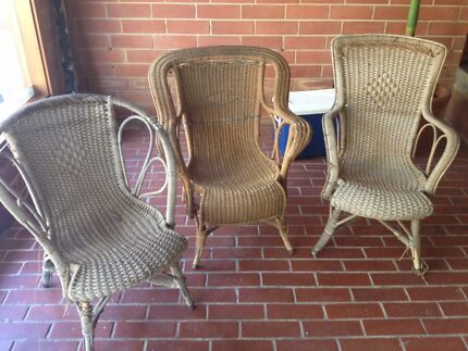 Cane chairs Panorama Mitcham Area Preview