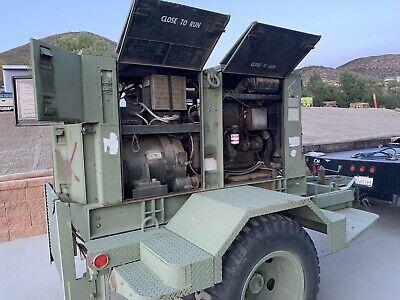 Mep-006a 60 Kw Diesel Military John Deere Generator Set Trailer-mounted