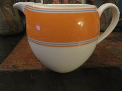 LENOX Kate Spade Cays Stripe Orange Creamer NEW!