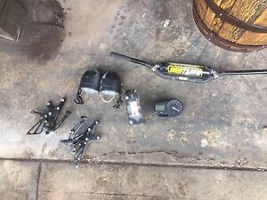 Miscellaneous motorcycle parts