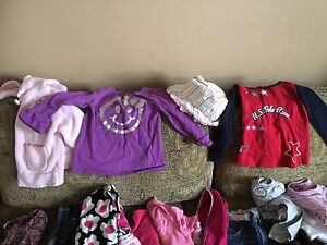 Toddler Girls Clothes 12M-24M some small 2T