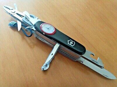 VICTORINOX UNIQUE SUPERTIMER RARE MULTICOLOUR PROTOTYPE SWISS ARMY KNIFE VINTAGE