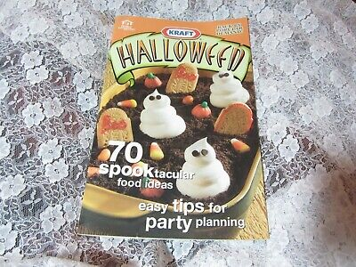 Halloween Graveyard Food (2002 Kraft Halloween Cookbook, Graveyard Cake, Spooktacular Food Ideas)