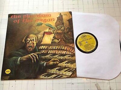 '73 Phantom of the Organ orig Halloween lp orig RARE spooky Verne Langdon](Halloween Organ Music)
