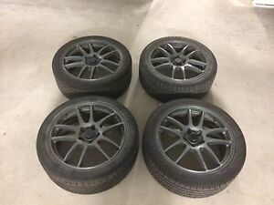 Velocity Forged Wheels - With Tires