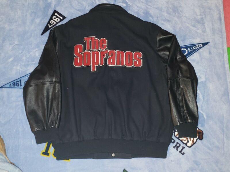 """The Sopranos ( Cast & Crew ) Jacket Sz. L  """"Tony B """" The Cable Guy"""