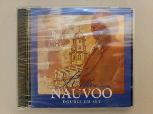 Relive Nauvoo on a 2 CD of Mormon LDS Church Temple History Christian Audio Book