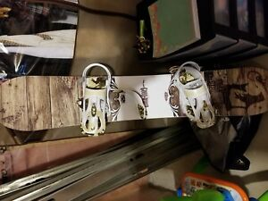 Good wood custom snowboard.