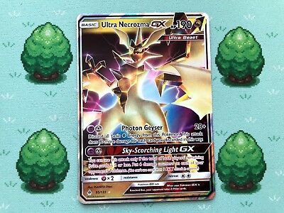 Pokemon - Ultra Necrozma GX - 95/131 - SM Forbidden Light - Half Art