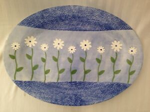New Table Manor Ceramic Oval Serving Dish/Platter 36 x 50cm