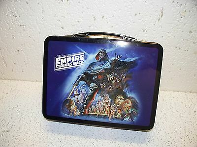 Star Wars The Empire Strikes Back Darth Vader Metal Lunch Box Tote NEW DESIGN