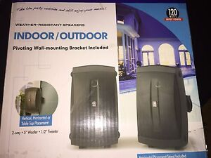 Yamaha Indoor / out door speakers.