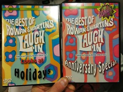 The Best Of Rowan & Martin's Laugh-In (DVD): Looks At Holidays &