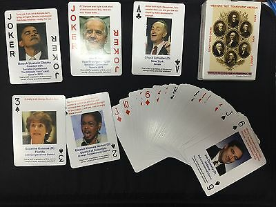 Playing Cards - Republican - Tea Party - VERY FUNNY (as seen on Fox News)