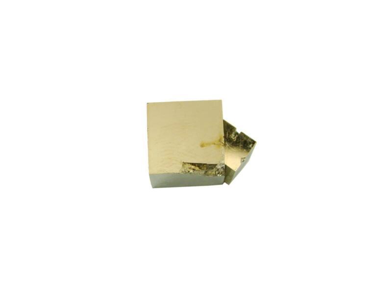 Navajun Spain Mine - Pyrite Cube Crystal With Display Case-#PC1